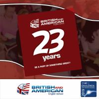 BRITISH AND AMERICAN - ENGLISH SCHOOL CURITIBA.