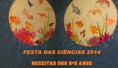 RECEITAS - 8ºS ANOS - FESTA DA CIÊNCIA