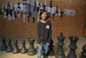 O aluno do 5º Ano, Pedro Frenkel