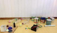 Alunos dos 2ºs Anos produzem seus próprios instrumentos musicais