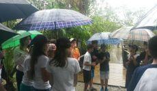 Aula de campo: alunos do 7º Ano visitam Manguezal e Aquário de Paranaguá