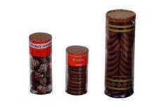 Acetato Tubo Biscoito Beijinho/ Biscolate Pequeno/ Biscolate Grande