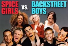 Festa Versus: Spice Girls x Backstreet Boys