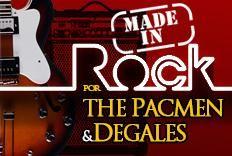 Festa MADE IN ROCK com as bandas The Pacmen e Degales