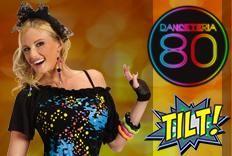 DANCETERIA 80 com sucessos de  Lulu Santos, Queen e outros.