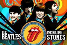 Festa Versus com as bandas Cavern Beatles e Rolling Stones Universit�rios