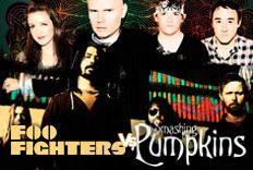 Festa Versus Foo Fighters x Smashing Pumpkins