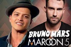 Festa Versus - Bruno Mars Vs Maroon 5, com...
