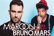 Festa Versus - Maroon 5 x Bruno Mars