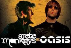 Festa Versus - Arctic monkeys & Oasis