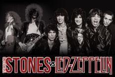 Festa Versus - The Rolling Stones vs. Led Zeppelin