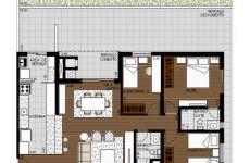 Apartamento Térreo 3 dormitórios