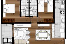 Apartamento 2 dormitórios (final 4)