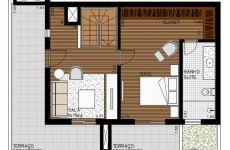 Duplex 2 Dormitórios + Suíte Master - Piso Superior