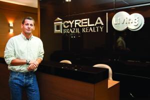 Marlus Doria, diretor executivo da Cyrela. Foto: Naideron Jr.