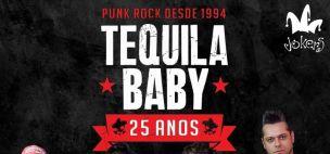 TEQUILA BABY + MAGAIVERS - TURNÊ DE 25 ANOS DA BANDA