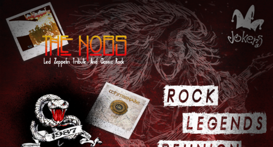 ROCK LEGENDS REUNION - TRIBUTOS LED ZEPPELIN - WHITESNAKE - OZZY OSBOURNE