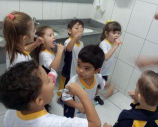 [PORTÃO] Infantil 4 e a Oficina de Higiene Bucal!