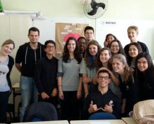 [CENTRO] Aula de Conversação com Intercambistas - 1° Ano do Ensino Médio