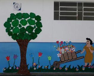 [Portão] Alunos do Integral Comemoram o Dia da Árvore