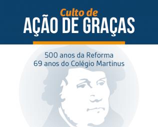 Culto de Ação de Graças - Reforma Luterana