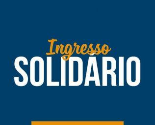 [Centro] Ingresso Solidário