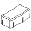 Peça de Concreto Modelo Stockholm 08 cm