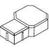 Peça de Concreto Modelo Roma 06 cm
