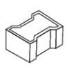 Peça de Concreto Modelo Bone 10 cm