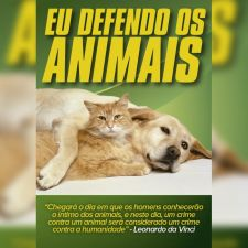 Defende os animais