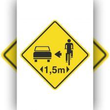 Respeito ao ciclista