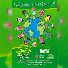 Educação Ambiental - folder