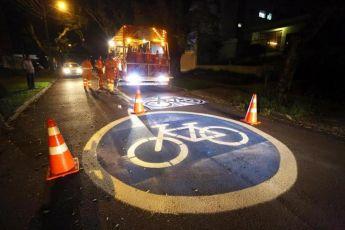 Prefeitura anuncia a criação de 1ª ciclorrota sinalizada de Curitiba