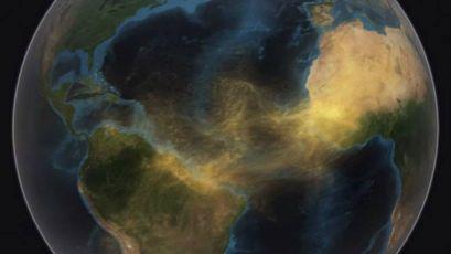 Poeira do Saara viaja até a Amazônia, mostra NASA