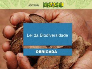 Regulamentação da Lei da Biodiversidade será construída com participação popular