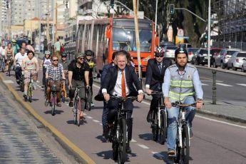 Holandeses ficam em Curitiba para implantar projeto de ciclomobilidade