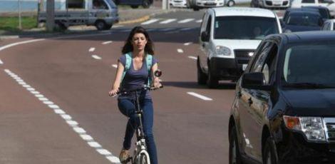 Ciclovias são raridade na Região Metropolitana de Curitiba