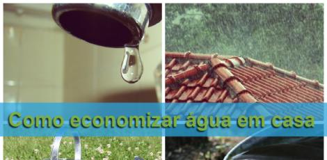 20 dicas de como economizar água em casa