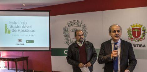 Curitiba anuncia novo modelo de coleta, transporte e tratamento de resíduos sólidos