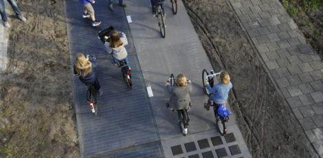 Ciclovias de Curitiba terão piso que gera energia a partir do movimento