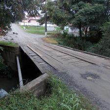 Rio Charqueada de Mallet terá nova ponte