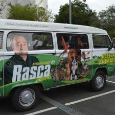 Rasca potencializará transporte de cães para castração gratuita