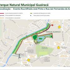 Rasca participa da inauguração do Parque Guairacá, o mais novo de Curitiba