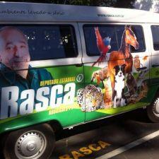 Rasca apoia campanha de castração gratuita de Curitiba