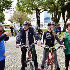 Rasca participa da Marcha das 2013 Bicicletas