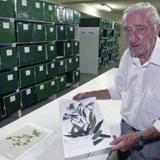 Rasca homenageia o botânico Gerdt Hatschbach