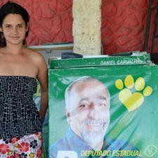 Deputado doa cavaletes para serem usados como abrigos para animais
