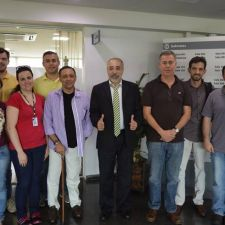 Rasca recebe especialistas da UFPR para debater criação de Hospital Veterinário Público