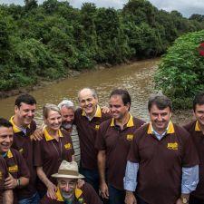 Rasca participa da inauguração da Reserva do Bugio