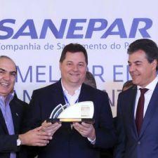 Rasca exalta Sanepar pela conquista do Prêmio Valor 1000